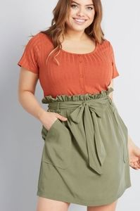 Out and adorable modcloth Jessy b skirt 2X